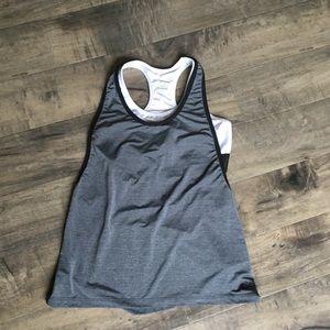 Nike sports bra and tank size medium